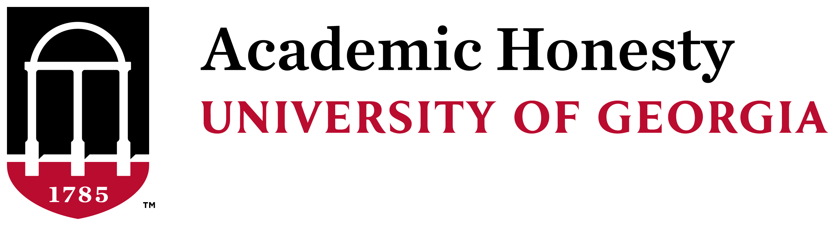 Academic Honesty at UGA Logo
